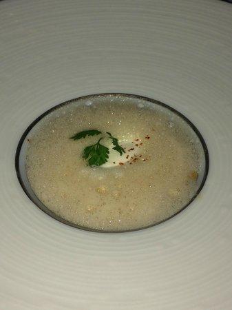 Bord Eau : parsnip soup