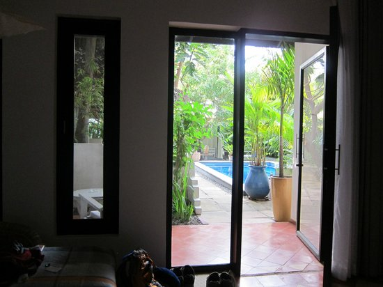 maison557: view from the bed