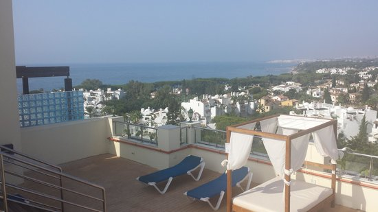Senator Marbella Spa Hotel : the roof of hotel