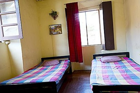 Typical double room at Relax Inn.