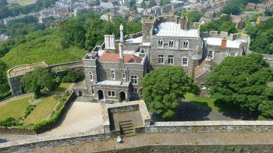 Dover Castle : inside the castle