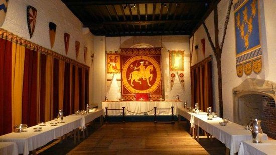 Dover Castle : the banquet room