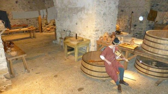 Dover Castle : one of the servants