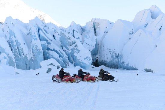 Alaska Backcountry Access LLC: The glacier was amazing!