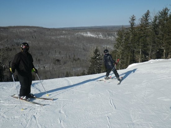 Lutsen Mountains Ski Area: plenty of challenging runs