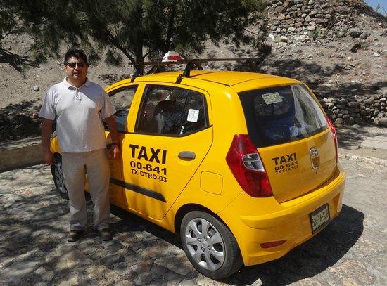 Hotel Trebol : Cab tour arranged by Carmen in the lobby. Alex was great!