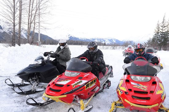Alaska Backcountry Access LLC: Awesome time on the snow machines!