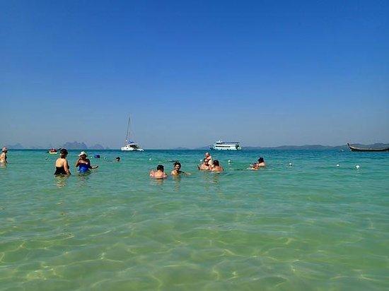 Blue Island - Day Tours: ナカ島での海水浴(1時間)