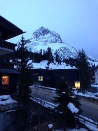 Hotel Theodul: вид из окна