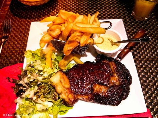 cafe Roussillon : my Delicious Stake