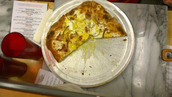 Pizza School NYC : Breakfast pizza