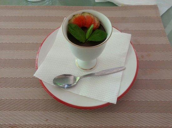 Minami: Mousse au chocolat.