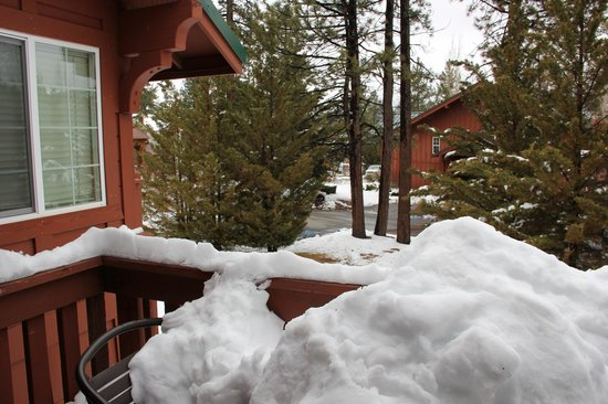 Worldmark at Big Bear : View from our room