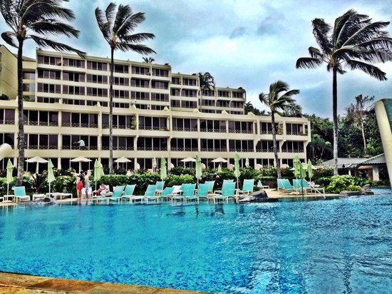 Princeville Resort : Pool area