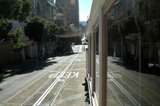Cable Cars: View from a Cable Car.