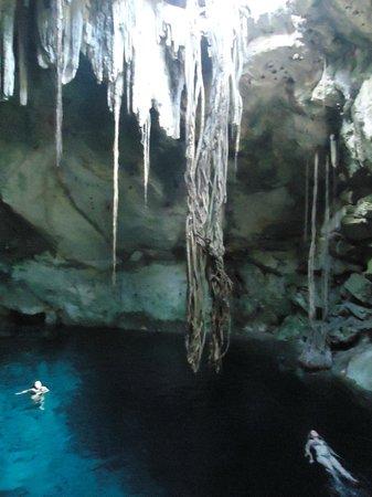 Cenotes: Cuzamá, Mérida, Yucatán.