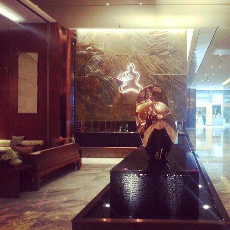 Mandarin Oriental Pudong, Shanghai : Spa Lobby