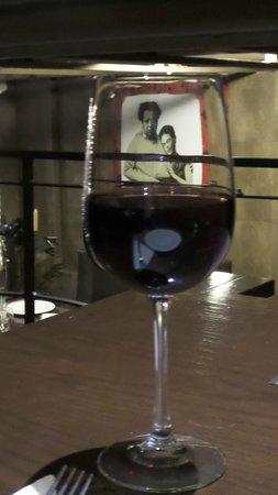 La Taberna de Diego y Frida: House wine overseen by Diego y Frida
