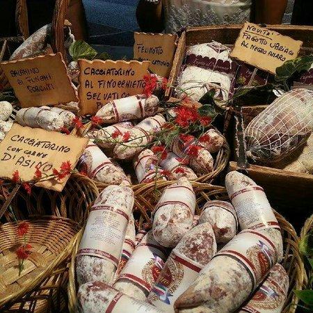 Racale, Itálie: Salumi tipici salentini