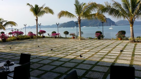 Bella Vista Waterfront : Breakfast area