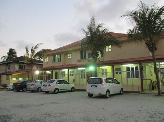 Intan Beach Resort Sdn Bhd: hotel view