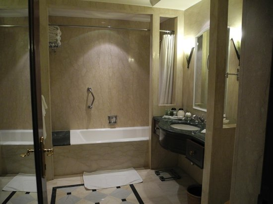 The Imperial Hotel: my bathroom