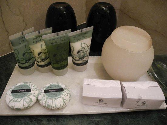 The Imperial Hotel: bathroom toilettries