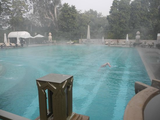The Imperial Hotel: heated pool