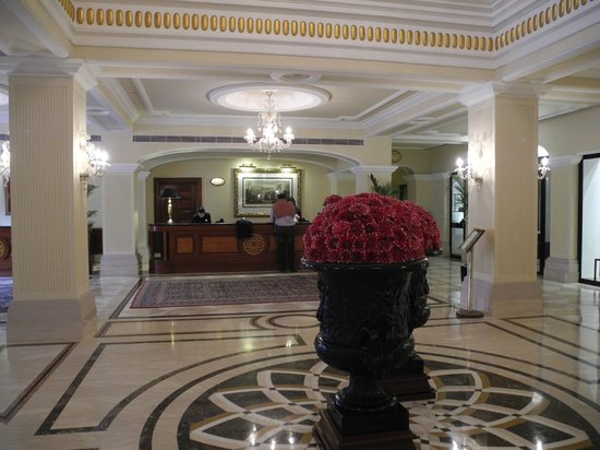 The Imperial Hotel: Reception Desk