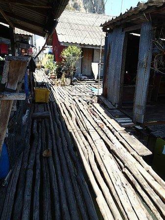 Ko Panyi, Thailand: Deck street