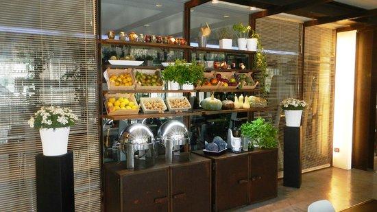 UNA Hotel One : Sala ristorazione