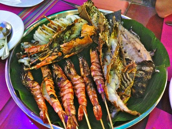 Sea Hag Restaurant: mix seafood