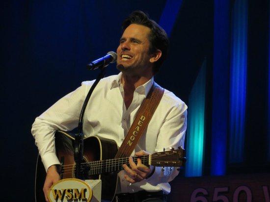 Grand Ole Opry: Charles Esten aka Deacon, in the hit TV series, Nashville.
