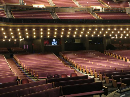 The Grand Ole Opry: The performer's view.