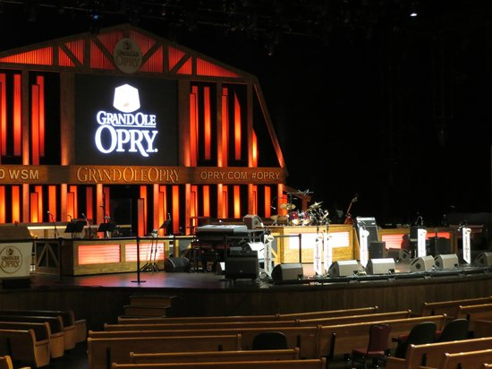 The Grand Ole Opry: The stage ...