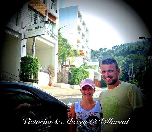 Villareal Heights: happy!