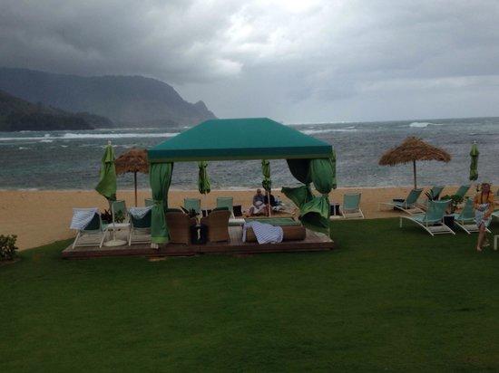Princeville Resort : Beach cabana