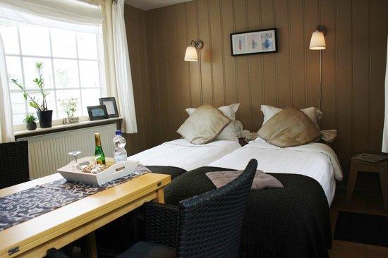 Bed & Breakfast Noordzee: De kamer van het tuinhuis