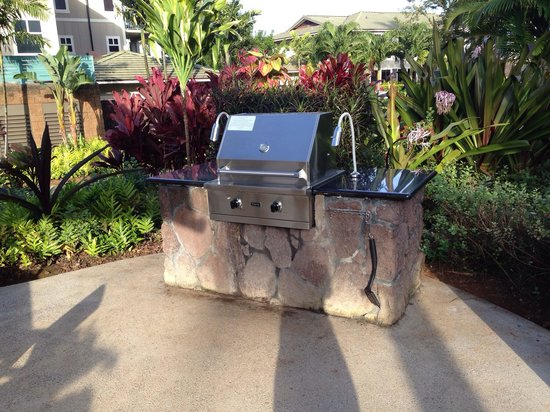 Westin Princeville Ocean Resort Villas: BBQ