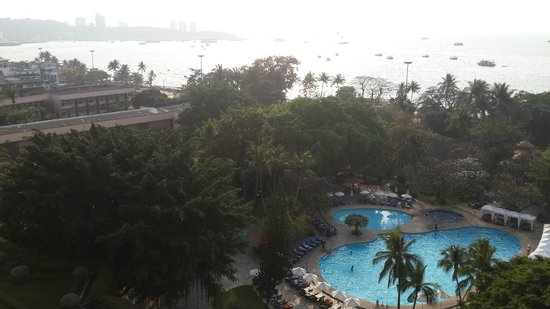 Imperial Pattaya Hotel: Panorama from 9thF