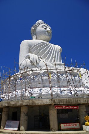 Grand Bouddha de Phuket : Renovations/additions are in full-swing