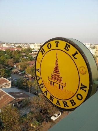 Hotel Yadanarbon: Aussicht von der Dachterrasse