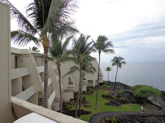Sheraton Kona Resort & Spa at Keauhou Bay: side view from room