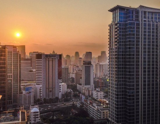 The Okura Prestige Bangkok: In the morning