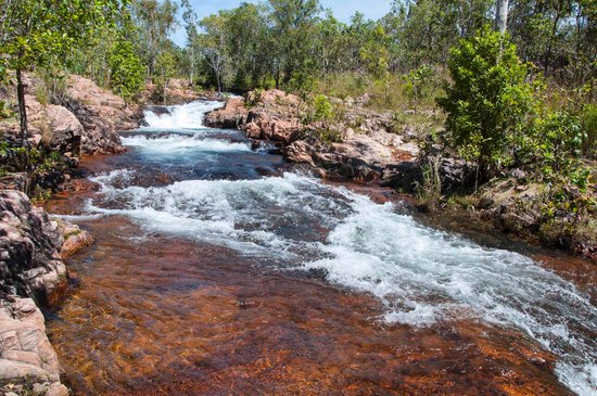Litchfield National Park: Buley Rock hole just after the wet