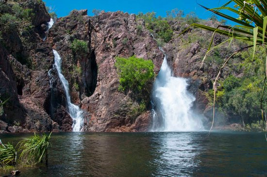Batchelor, Australie : wangi falls just after floods