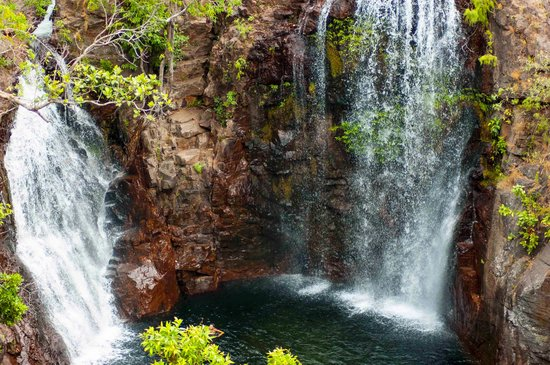 Litchfield National Park: Florence falls from the top