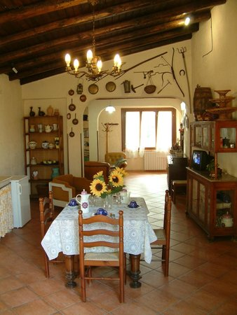 La Banna Bed & Breakfast : living