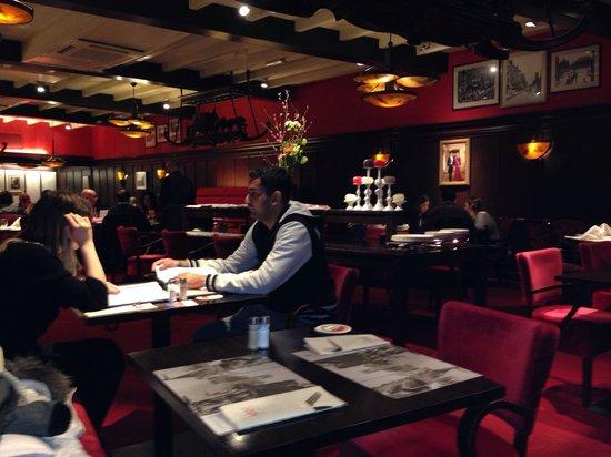 Hotel Amsterdam - De Roode Leeuw: Restaurant de l hôtel