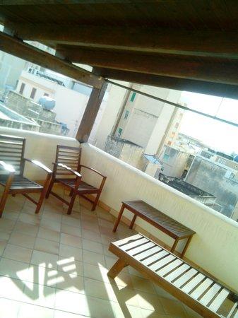 Residence La Mattanza : terrazzo